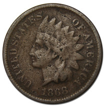 1868 One Cent Indian Head Penny Coin Lot# MZ 3774