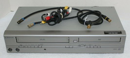 Emerson EWD2004 H-Fi 4 Head Video Cassette Recorder VCR VHS DVD Combo ~No Remote - $69.99