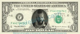 MR T on REAL Dollar Bill Cash Money Bank Note Currency Dinero Celebrity - $4.44