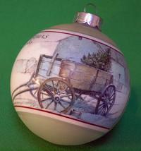 "Holiday Sale!  1980 Hallmark Keepsake Glass Ornament, ""Grandfather"" - Still In B - $1.95"