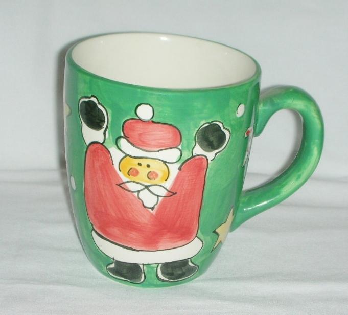 Santa Gibson Christmas Mug XL Stoneware