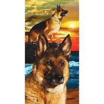 Loyal Shepherd Deluxe Beach Towel - $19.95