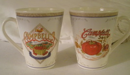 2008 Campbell's Soup Condensed Tomato Latte' Coffee Cup Mug - Set of 2 - $6.95