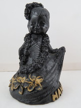 Vintage Lava Tiki Figurine - Asain Girl Design - By Poly Art - Rare - $49.00