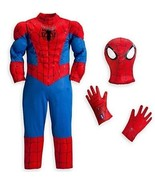 Spiderman Marvel Boys Halloween Costume Size 5/6 Disney Store NEW!!! - $39.59