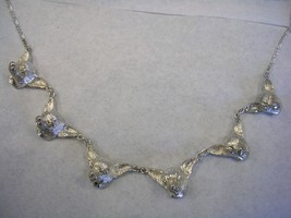 """CHIHUAHUA DOG 5 HEAD NECKLACE IN STERLING SILVER 20"""" - $168.25"""