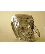 Pottery Barn Walking Dead skull snack bowl glass Halloween - $41.99
