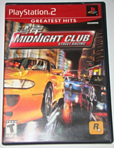 Playstation 2   Midnight Club Street Racing (Game And Manual) - $15.00