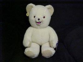 Jumbo Snuggle Fabric Softner Plush Bear M/W/Tags By Russ 1986 Super Cute - $140.24