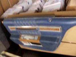 1984 SEDAN DEVILLE BLUE RIGHT REAR DOOR PANEL OEM USED CADILLAC 1980 198... - $194.04
