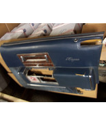 1991 CADILLAC BROUGHAM RIGHT FRONT BLUE DOOR PANEL OEM USED FLEETWOOD TE... - $178.20