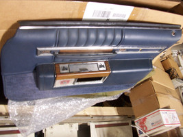 1984 SEDAN DEVILLE BLUE RIGHT FRONT DOOR PANEL OEM USED CADILLAC 1980 19... - $231.41