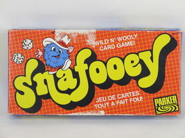 Snafooey 1982 Card and Dice Game Parker Brothers Complete Excellent Bili... - $13.86