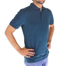 NEW MEN HUGO BOSS SPORT PREMIUM COTTON POLO SHIRT T-SHIRT GREEN 50100615 SIZE S image 3