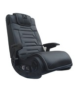 Video Gaming Chair Wireless Audio Black Gift  Play TV Sit  Watch - $242.37