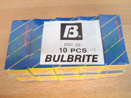 10 Brand New Bulbrite Clear Halogen Bulbs Q100GY/120 GY8 Base 120V 100W - €10,52 EUR