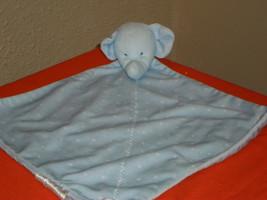 Blue Elephant Lovey Security Blanket - $14.99