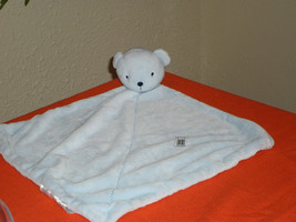 Little Boys Blue Bear Lovey Security Blanket - $14.99