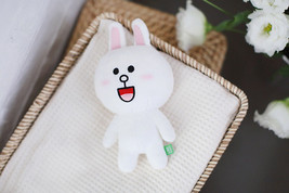 "LINE Friends Character White Cony 7""(18cm) Stuffed Plush Doll Cuddle Toy... - €27,11 EUR"