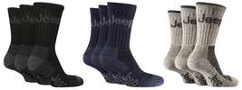 3 Paires Hommes Luxe Jeep Terrain Chaussettes De Marche Taille 6-11 UK 3... - $14.94