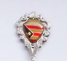 Collector Souvenir Spoon Puerto Rico Flag - $6.99