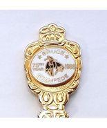 Collector Souvenir Spoon Canada Alberta Bruce Stampede 1988 75th Year - $4.99