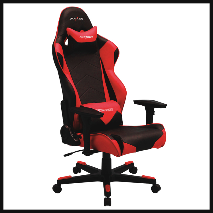 DXRACER Rf0nr Office Chair Gaming Chair Computer Chair Pyramat Black And Red