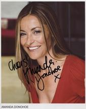 Amanda Donohoe SIGNED Photo + COA Guarantee - $56.99