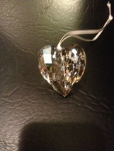 "Swarovski Christmas Ornament Heart New 1 3/4"" - $55.93"