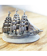 Pirate Sailing Ship Spoontiques Pewter Figurine... - $22.49