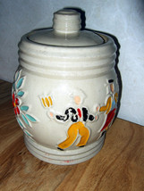 Redwing Cookie Jar Dancing Peasants 1940's  Cre... - $51.94