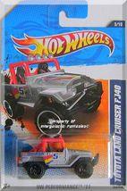 Hot Wheels - Toyota Land Cruiser FJ40: HW Performance '11 #3/10 - #133/244 - $7.49
