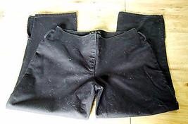 Bebe Womens Black Capri  Pants Size 4 - $21.56