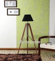 Nauticalmart Vintage Black Tripod Floor Lamp - $186.10