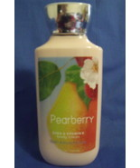 Bath and Body Works New Pearberry Body Lotion 8 oz - $9.95
