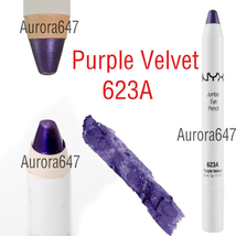 NYX Jumbo Cream Eye Pencil Shadow Liner Crayon Pen Makeup JEP623A PURPLE... - $18.00