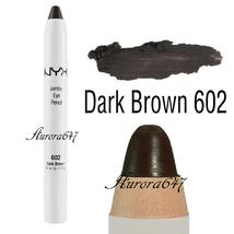 Nyx Jumbo Eye Pencil Shadow Liner Crayon Pen Makeup Cosmetic Jep602 Dark Brown - $18.00