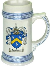 Appelyard Coat of Arms Stein / Family Crest Tankard Mug - $21.99