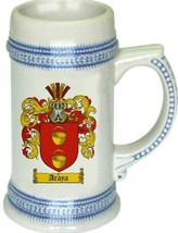 Araya Coat of Arms Stein / Family Crest Tankard Mug - $21.99