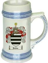 Babbs Coat of Arms Stein / Family Crest Tankard Mug - $21.99