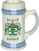 Ballinghall Coat of Arms Stein / Family Crest Tankard Mug - $21.99