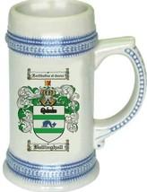 Ballinghall Coat of Arms Stein / Family Crest Tankard Mug - $21.99