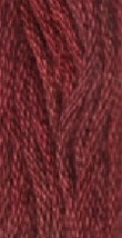 Ruby Slipper (7100) 6 strand hand-dyed cotton floss Gentle Art Sampler T... - $2.15