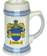 Canepa Coat of Arms Stein / Family Crest Tankard Mug - $21.99