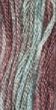 Creekbed (1070) 6 strand hand-dyed cotton floss Gentle Art Sampler Threads - $2.15