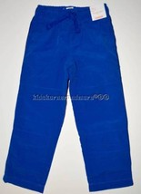 Gymboree Gymster 6 Jersey Lined Pull On Active Pants Gym Sporty Blue Boys - $17.67