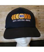 NAPA Safe Driving Award Snapback Hat Auto Parts Racing Driver Cap NEW - $25.15