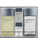 NEONIS NATURAL MEN'S FACIAL SKIN CARE SET WITH LOTION AND AFTERSHAVE - $32.99