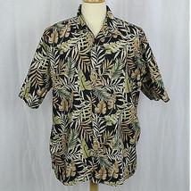 Cooke Street Honolulu Hawaiian 100% Cotton Aloha Camp Shirt Men Size XL EUC - $22.44