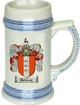 Delaney Coat of Arms Stein / Family Crest Tankard Mug - $21.99